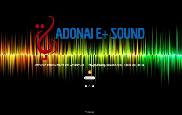 Adonai E Plus Sound